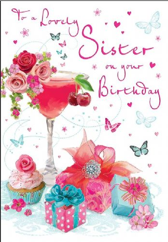 To A Lovely Sister On Your Birthday